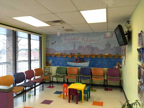 ... Arnold Pediatrics   Well Waiting Room ...